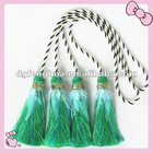 2012 natural style curtain tassel with feather