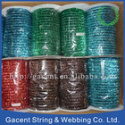 Fashion metallic glitter velvet ribbon