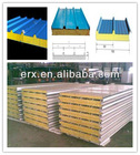 Insulated Rock wool/PU/EPS sandwich panel price