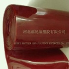 red welding strip curtain