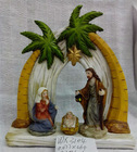 Religious craft by resin for christmas gift