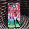 Colored Drawing case for iphone 4 PC for christmas gift