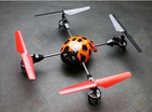 F03334 WL V929 4CH 2.4GHz 3D Fly 4 Rotor RC Helicopter Ladybird Quadcopter BNF No transmitter(Bind with V911 TX)
