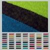 83.7% rayon 16.3% polyester knit rib trim for garments