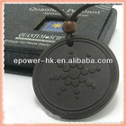 Quantum Pendant Energy - Biotech Ionic Technology - Balance Body Power - Natural