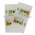 Brand milk hang tag for garment clothing label