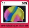funny silicone swimming cap