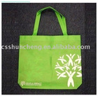 Nonwoven PP folding shopping bag handled