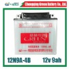 12v 9ah motorcycle dry battery (12N9A-4B)