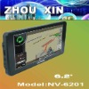 6.2 inch GPS Navigation with FM/AM Built in 4GB Flash