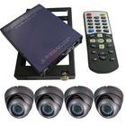 4CH Full D1 Vehicel DVR Camera CCTV System