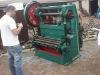 Metal sheet punching machine