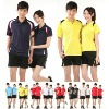 2012 badminton jersey,newest fashionable tennis uniforms sets,wholesale badminton shirt