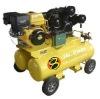 15 HP Petrol driven 150liter twin tank air compressor