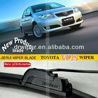 Universal car glass wiper for J-hook wiper arm