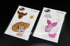 crystal sticker,rhinestone sticker,acrylic sticker