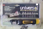 Universal screwdriver set