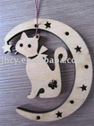 2012 newest cute cat long lasting wooden air freshener