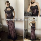 2011 Best Selling A-line Lace Over Satin Cheap Mother of Bride Dresses Online