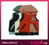 Knitting pattern boy vest, sleeveless kids jacket