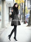 2012 Wholesale WOMEN DOUBLE BREASTED WOOL COAT