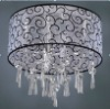 Elegant Crystal Chandelier with 10 Lights