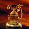 european style telephone, bronze with gold 24 telephone,villas & hotel telephone