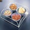 hot acrylic food tray