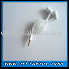 earphone cable,retractable earphone cable