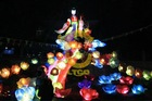 2013 colorful outdoor festival lighting for public show