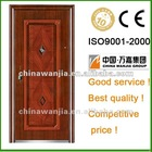 Popular heat transfer With CE, ISO ,SONCAP Good quality and cheaper Best Wanjia security steel door