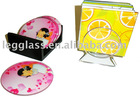 glass cup mat