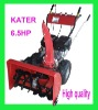 KATER 6.5HP snow blower with CE