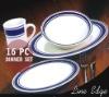 Stock 16pcs stoneware dinner set