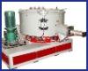 Plastic mixer for PVC powder