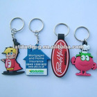 2012 custom soft pvc keychain