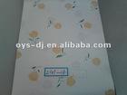 PVC decorative film with flowers design