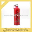 wide-mouth red color stainless steel spray bottle with nozzle lid