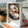 Colourful plastic photo frame