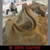 Miniature sculpture,Great Wall scale model