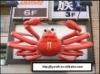 JYW-002 simulation crab, food model,fake food display,fake sea food,crab model