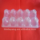 2*5 PVC plastic transparent egg tray