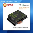 PWM waterproof dimming solar charge controlller with LED driver SR-SD use for LED street light