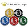 Texas Hold'em Blank Poker Chips