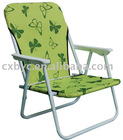 green folding Beach Chair