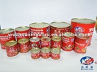 High quality tomato paste in tins, drums, glass jar etc.