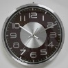 11'' Aluminum wall clock