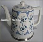 Qinlian Flowers Ceramics electric kettle