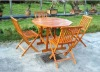 wooden garden table and chairs furniture