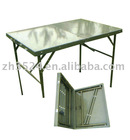 folding table for field operations